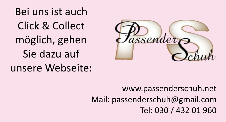 Click & Collect - auch bei uns!
